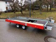 Autotransporter Anhänger KFZ Transporter Trailer