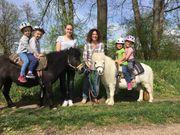 geführtes Ponyreiten für 2 Kinder
