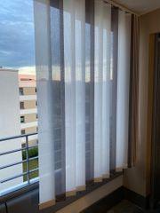 Lamellenvorhang für Loggia Balkon etc