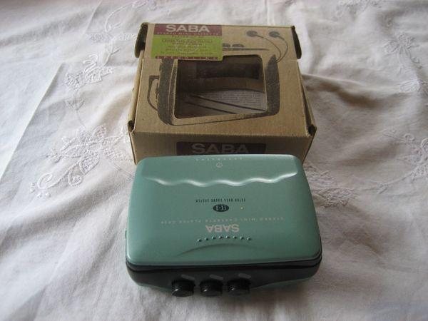 Saba Stereo Mini Casetten Player