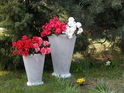 Garten Figur aus Beton Blumentopf -