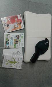 WIi Spielekonsole inklusive Balance Board