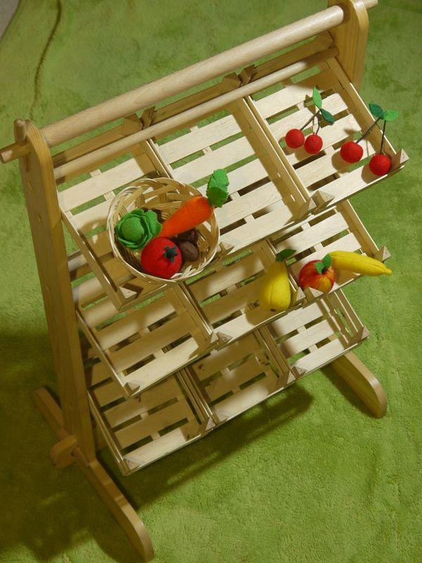 Obst-und Gemüseständer