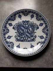 Wand-Teller Porzellan Seltmann Weiden Wappen