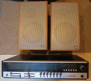 Telefunken-Radio mit Boxen 70er Jahre