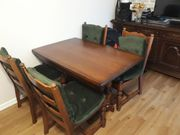 Tisch mit 6 Stuhlen
