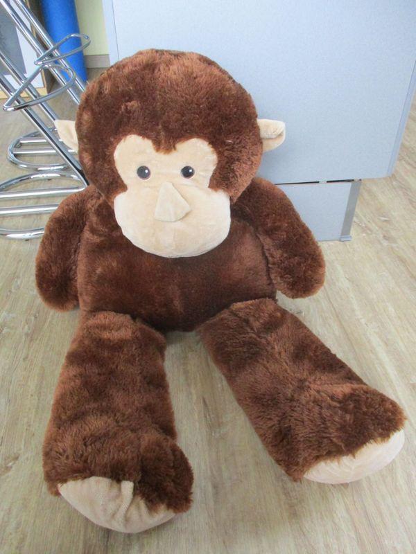 Plüschtier Affe groß neuwertig