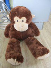 Plüschtier Affe groß