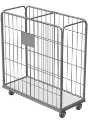 Gitter- Rollcontainer für Wäschelogistik vom