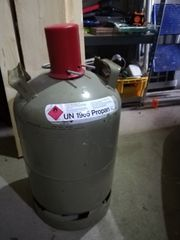 11 kg Gasflasche leer