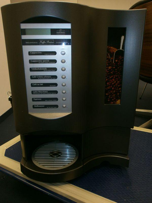 Kaffeevollautomat Professionell Multibona von Kaffeepartner