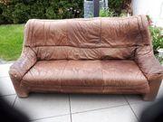Leder Sofa zu verschenken Rastatt