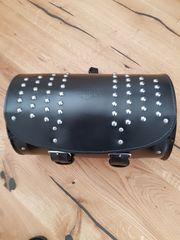 Harley Davidson original Gepäckrolle Leder