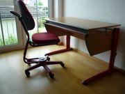 Schüler Schreibtisch höhenverstellbarer Stuhl von