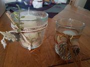 Herbst Deko im Glas