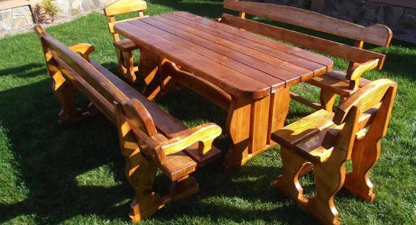 Gartenmöbel Holz Rustikal