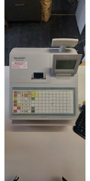 Sharp XE-A217W Kasse Registerkasse weiß