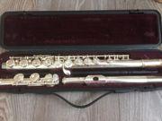 Querflöte Yamaha 211 mit Silbermundstück