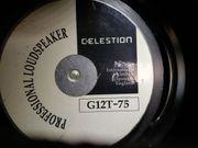 Tausche Celestion G12T-75 16 Ohm