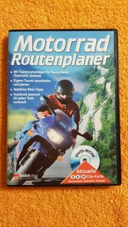 DVD-ROM Motorrad Routenplaner