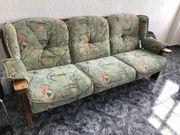 alte Couch Garnitur 3Teiler im