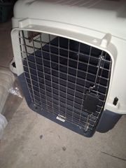 Hundetransportbox zweimal benutzt