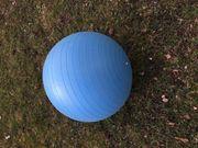 Sitzball Gymnastikball blau
