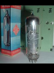 ECL 113 Telefunken Röhre Tube