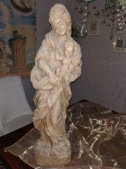 Madonna mit Kind Holz Handarbeit