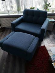 Sessel mit Hocker Inosign Loungesessel