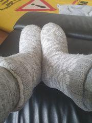 Liebhaber Socken abgenutzt