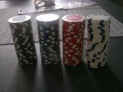 Neu 100 Pokerchips