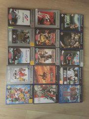 PlayStation 2 Spiele Set