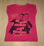 Mädchen Kurzarm T-Shirt Girl Teen