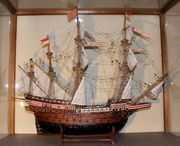 Schiffsmodell Adler von Lübeck 88x74