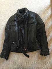 Motorrad Leder Jacke und Hose