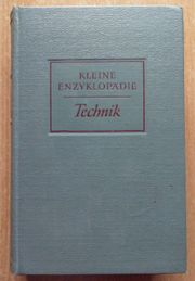 Kleine Enzyklopädie Technik von 1958