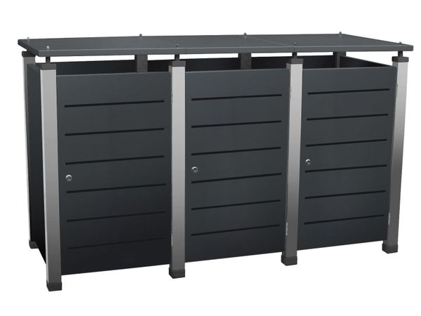 Mülltonnenbox Pacco E Line für