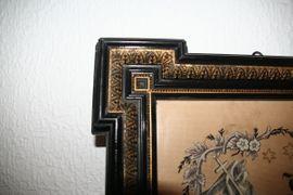 Kunst, Gemälde, Plastik - Religiöses Stickbild