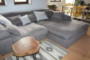 Big Sofa in grau
