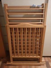 Holz Babybett