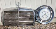 Radkappen und Kühlergrill für Mercedes