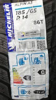 4x Michelin Alpin A3 185