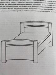 Bett 90x 200 cm mit