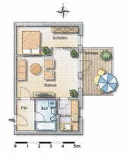 Kapitalanlage 2 Zimmer Gartenwohnung S4