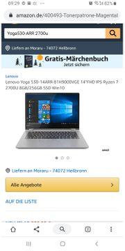 Final price Lenovo yoga530-arr ryzen7