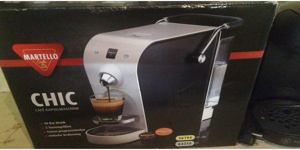 2 Kapsel Kaffe Maschinen