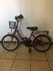 Lila Rosa Fahrrad