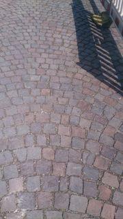 Porphyr Pflastersteine Kopfsteinpflaster groß und