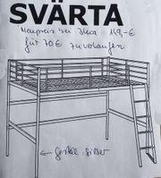 Hochbett Svärta Ikea
